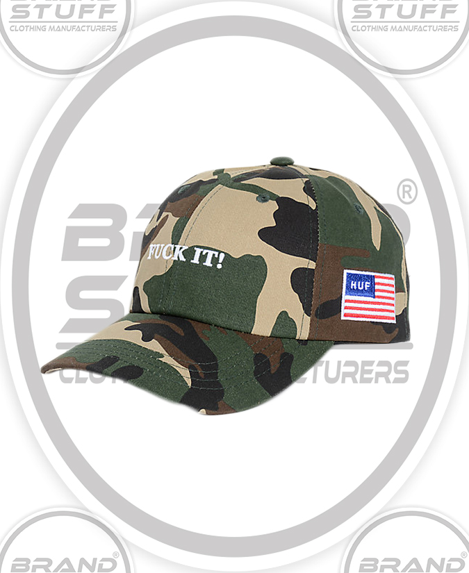 HIGH QUALITY EMBROIDERED CAMO HAT
