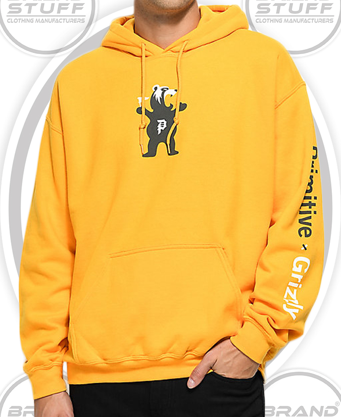 HIGH QUALITY BRUSHED COTTON FLEECE OVER SIZE HOODIE