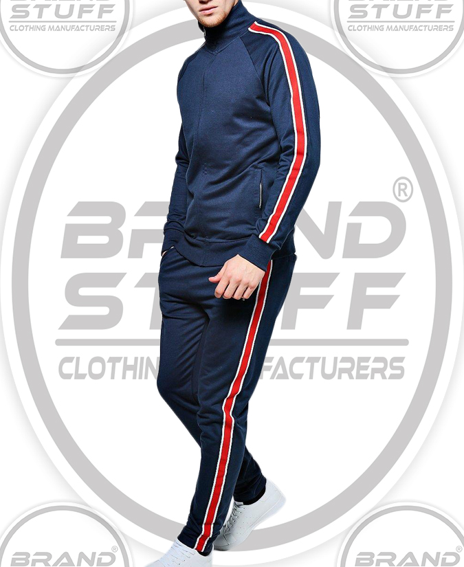 CLASSIC SPORTS STRIPE ZIP UP RAGLAN TRACK SUIT